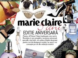 Sectiunea aniversara Marie Claire 5 ani