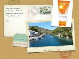Crema cu protectie solara Vichy