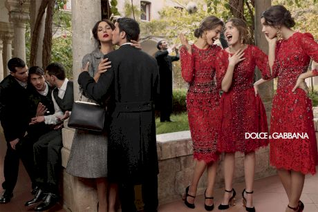 Campania Dolce & Gabbana toamna-iarna 2013