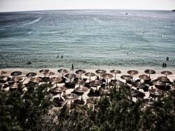pe plaja in mykonos