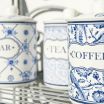 recipiente pentru cafea zahar si ceai