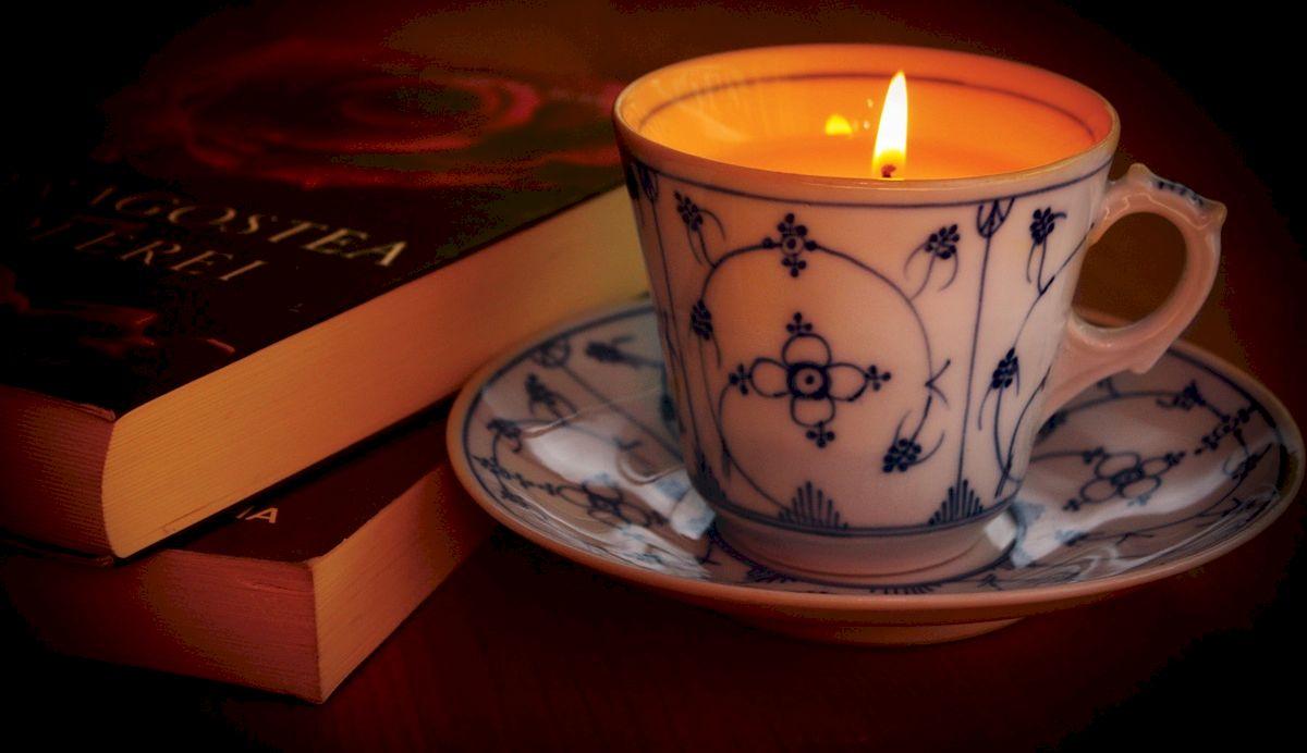 Cup&Candle sau ceasca-lumanare eco-sic