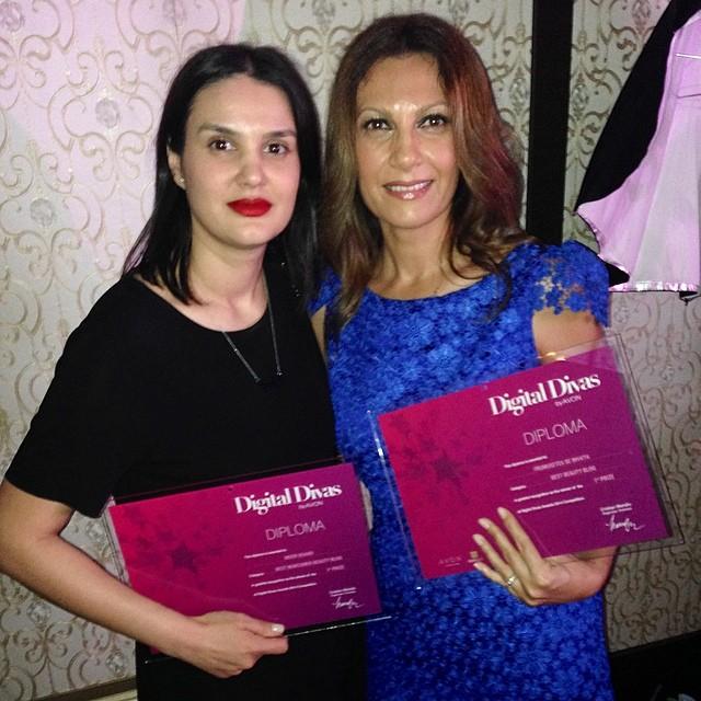 Blogul Mood Board a castigat premiul I la Digital Divas 2014, categoria Best New Comer Blog