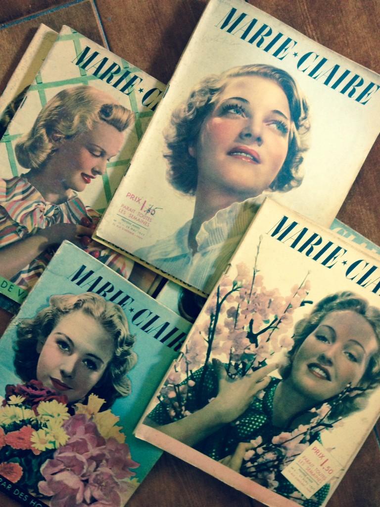 reviste vintage marie claire